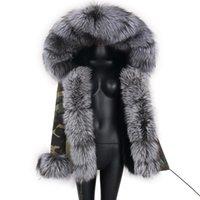Kadın Kürk Faux Lavelache 2021 Kış Kalın Sıcak Kısa Parkas Kadın Moda Siyah Gerçek Mont Fermuar Pamuk Ceketler Kadın Bayanlar