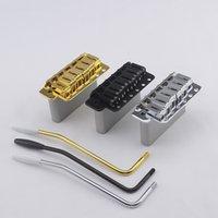 [Made in Giappone] Un set Genuino Guitar Electric Guitar Bridge Tremolo System Bridges Gold e CR