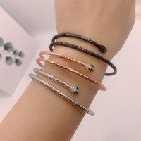Bangle Simple Thin Bracelet For Women Party Animal Shape Zironia Fashion Jewelry Wholesale Gift Zk30