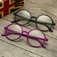 Anti Anti Blue Light Ray Reading Óculos Computador Óculos Mulheres Homens UltraleLight Tr90 Rodada Presbyopia Eyewear Diopter +1.0 ~ 4.0