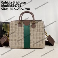 Ophidia pasta clássica laptop sacos luxurys designer homens sacos de moda negócios negócios business bag bag saco de mensageiro mensageiro