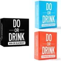 Do or Drink Party Card Game for Men and Women College Camping 21st Birthday Parties Funny Tools