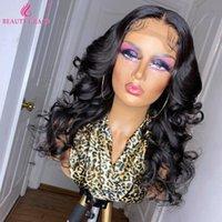 الجملة الجسم موجة شعر الإنسان الباروكة البرازيلي الدانتيل الجبهة 4x4 إغلاق الأمامي الباروكات للنساء