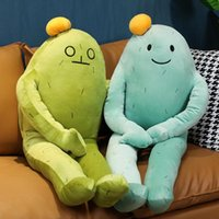 60 cm cartoon plush toy emoticon pack doll child girl heart pillow