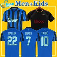 Haller Soccer Jerseys 21 22 الصفحة الرئيسية Tadic Tadic Antony Neres Klaassen Labyad Football Shirt Men + Kids Kit