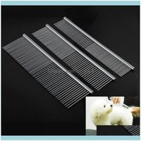 Home & Garden Supplies Grooming Tools For Dog Clean Brushes Pin Cat Brush Stainless Steel Dogs Comb Metal Pet Product Drop Delivery 2021 4Bn