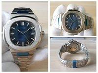 20 Stil Yüksek Kalite Saatler 40.5mm Klasik 5711 / 1A 010 Paslanmaz Çelik ASIA 2813 Hareketi Şeffaf Mekanik Otomatik Erkek İzle erkek Saatı
