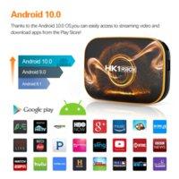 Smart TV Box Android 10.0 HK1 RBOX R1 MAX 2GB 4GB RAM 16 32 64 128GB ROM TVBOX 4K Media Player