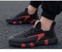 Koşu Ayakkabı Rahat Mesh Rahat Nefes Düşük Dantel-up Kauçuk Taban Eğitmenler Atletik Klasik Mens Sneakers Için Açık