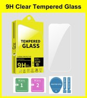 9H Premium Screen Protectors for iPhone 13 Mini Pro Max 11 12 XR XS 7 6 8 Plus Clear Anti-scratch Tempered Glass