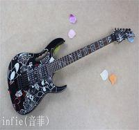 أعلى جودة العلامة التجارية وصول القيثارات jem 77 fp2 سلسلة dimarzio التقاطات الغيتار الكهربائي