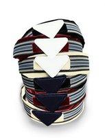 Mode Stirnbänder Dreieck Luxus Designer Stirnband Hohe Qualität Die Elastische Bewegung Fitness Frauen Multicolor Hair Zubehör