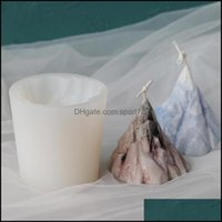 Craft Arts, Crafts Gifts & Gardencraft Tools 3D Iceberg Sile Material Handmade Candle Mold Diy Small Ice Mountain Mod Making Supplies Home D
