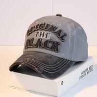 2021 cowboy hat for men baseball cap trucker custom fascinator casquette french letter patchwork sailor 11 color summer unisex blending women black hats dad caps