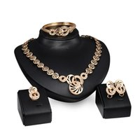 Earrings & Necklace HC Middle East Arabia Africa Wedding Jewelry Set European Gold Round Pendant For Party Dress Accessories F