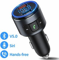 WILDSING BH347 Bluetooth-Adapter Auto AUX Bluetooth 5.0-Überträger QC3.0 Wireless Radio-Audioadapter mit LED-Hintergrundbeleuchtung