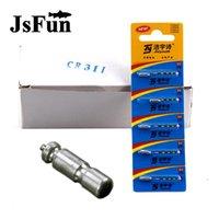 10/50 / 100 stücke Elektronische Angelfloat-Batterie CR311 für Nacht leuchtendes LED-Licht-Zubehör FO358 Zubehör