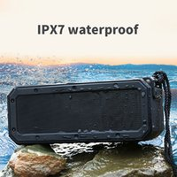 2021 Portable Bluetooth Compatible 5.0 Speaker 40W Long Working Time Outdoor IPX7 Water-proof Speakers Support SD Card USB Wireless Subwoofer