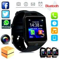 DZ09 Smart Watch Smart Wristband Sim Intelligent Android Sport Watch para teléfonos celulares Android Relógio Inteligente con baterías de alta calidad