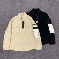 Tasche Ghost Series Jacken Steinjacke Lässige Männer Reißverschluss Windjacke Frauen Mantel Abzeichen Mode Mäntel Qualität Kleidung Stickerei Herren Oberbekleidung