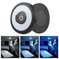 Car Interior Reading Light Auto USB Charging Roof Magnet Day Trunk Drl Square Dome Vehicle Indoor Ceiling Lamp LED Emergency Lights