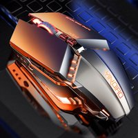 Silence Gaming Mice Wired 3200DPI LED Backlit USB Optical Ergonomic Mouse PC Gamer Computer Laptop Games