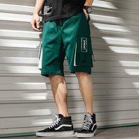 Men's Shorts Men Sweat Hip Hop Streetwear Summer Military Cotton Mens Bermuda M-XXXL 2021 Big And Tall Clothing