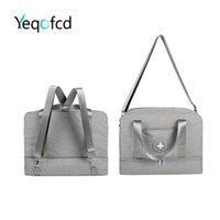 Duffel Bags Yeqofcd Dry Wet Separation Shoulder Bag Waterproof Oxford Travel Shoe Handbags Unisex Luggage Duffle For Women