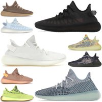 2021 mens womens shoes Cream Zebra Cinder Bred Blue Tint men women trainers sports sneakers size 36-46