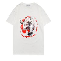 2021SS T-shirt Alien T-shirt Hommes Battle Casual Tees à manches courtes HIP HOP HOP TEE TEE PUNK IMPRESS Lettre Chien Summer Femmes Skateboard Paris Stamp Mode Designer Vêtements S-2XL