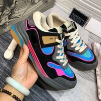 Clássico 2020SS Retro Couro Real Mulheres Desgintadores Casuais Homens Top Quality Mens Sneakers Locais Lace Up Moda Luxurys Sapatos Esportivos Mulheres com Caixa Tamanho 35-46