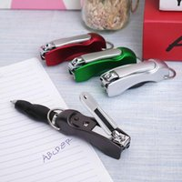 1Pc Creative Multifunction Folded Nail Clippers Ballpoint Pe...