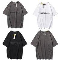 Men T Shirt Women top Lover Fear Of Essentials off God tshirts Fog Front Silicon Tee Skateboard Tshirt Short mens Clothing Sleeve Fashion logo letter printing