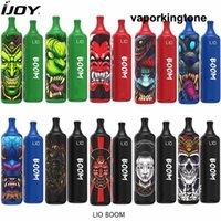 Original ijoy LIO Boom 3500Puffs Disposable Vapes Kit e cigarettes 1400mAh Battery 5%ni 10ml Pod Vape vs GunnPod aokit cube 2 hzko idol bang xxl geek bar