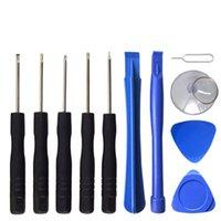 11 en 1 Kits de herramientas de tornillo Kits Teléfono celular Reparación de herramientas Torx Destornillador para iPhone Samsung HTC Sony Motorola LG DHL gratis