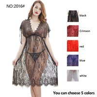 Nein: 201.6 # Frau Sexy Set transparent Spitze Mesh Pyjamas Four Seasons Sling Dessous Großhandel und Einzelhandel Tangas + BHs Panties Ex-Fabrik Preis