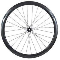 Rodas de bicicleta 38mm Roda dianteira 25mm CT31 100x15mm straight puxar travas centrais Freio de disco de carbono 700c 720g ud 3k 28h