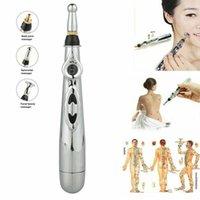 Elektronik Akupunktur Kalem Elektrik Meridyenler Lazer Terapi Heal Masaj Kalem Meridyen Enerji Kalem Rölyef Ağrı Araçları