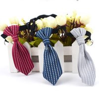 12pcs lot Adjustable Pet Dog Collar Tie Small Dogs Cats Neckwear Scarf Puppy Necktie Necklace Accessories Collars & Leashes