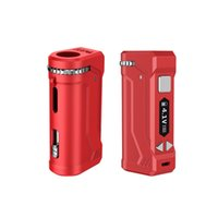 Original Yocan UNI Pro Box Mod Kits 650mah Battery Voltage Adjustable Ecigs Mods with Magnetic Ring 510 Thread Adapter for Oil Atomizer Carts