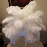 20-22 pulgadas / 50-55 cm Decoración de fiesta Avestruz Pluma de plumas para centros de boda Decoración de mesa 10 colores disponibles