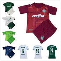 2021-2022 Palmeiras Jersey Soccer Home 23 Veiga 10 Adriano 29 Willian 7 Rony 27 Veron 25 Menino 8 ZE Rafael Shirt de football Hommes + Kits d'enfants