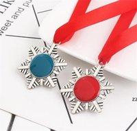 Criativo Christmas Buckle Buckle Fita De Floco De Neve Magia Keychain Liga de Zinco Papai Noel Presente Ornaments Árvore de Xmas Pendurado HWA7491