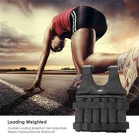 Accessories 20kg 50kg Fitness Running Loading Weighted Adjustable Exercise Training Vest Jacket Gym Workout Boxing Waistcoat