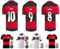 20 21CR Flamenko Futbol Jerseys2021 Flaman Guerrero Diego Vinicius Flamengo Gabriel B Yetişkin Futbol Gömlek