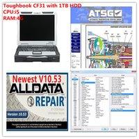 Высокопроизводительная Toughbook CF31 Ноутбук I5 CPU 4 ГБ ОЗУ с 1TB HDD Alldata Soft-Ware MIT ATSG Установите хорошо