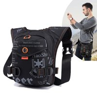 Stuff Sacks Men Waterproof Crossbody Bag Hunting Accessories Tactical Drop Leg Waist Nylon Motorcycle Pocket