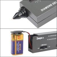 Professionale High Precisione Diamond Tester Gemstone Gem Selettore II Gioielli Watcher Tool LED Diamond Indicator Test Pen 54 T2