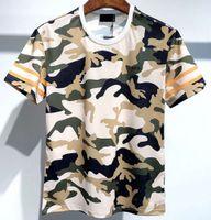 2021 Хип-хоп Европа Высокое Качество Камуляционные Зеленые Футболки Мода Мужчины Футболка Женщины Повседневная Хлопок Тройник