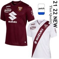 2021 2022 Torino FC Soccer Jerseys Maglia da Calcio Belotti Frock Izzo Nkoulou زازa Baselli 21/22 Torino Home Away Maillot de Football Shirt Top Thailand